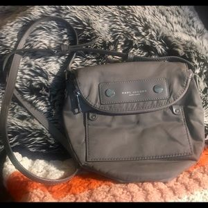 Marc Jacobs Grey Nylon Crossbody Bag